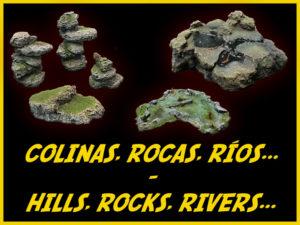 COLINAS, ROCAS, RÍOS / HILLS, ROCKS, RIVERS