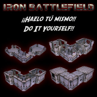 Iron Battlefield - Kit montables / Mountable kits