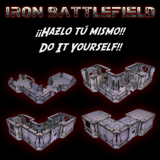 Iron Battlefield - Space Hulk Scenery DIY