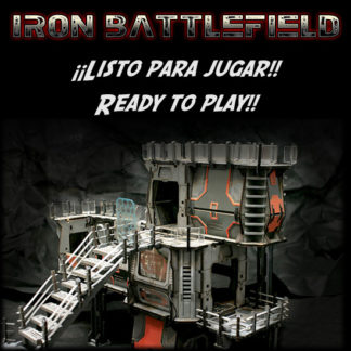 Iron Battlefield - ¡Listo para jugar! / Ready to play!