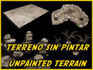 Terrenos Sin Pintar / Unpainted Terrain