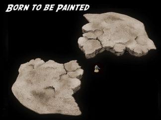 Half Modular Plateau - Wargame Scenery