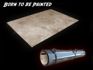 Wargame Terrain - Unpainted Roll-up Surface
