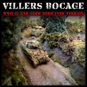 Villers-Bocage, wargame scenery for Flames of War, Bolt Action and Dust Warfare