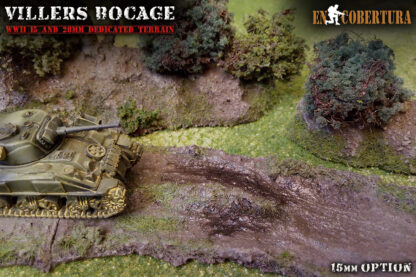 Bocage 15mm Flames of War Sherman