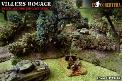Viller-Bocage Flames of War artillery