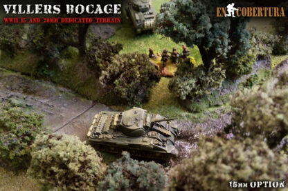 Bocage 15mm Flames of War sherman on lane