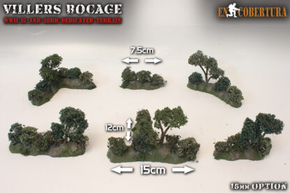 Bocage 15mm measures