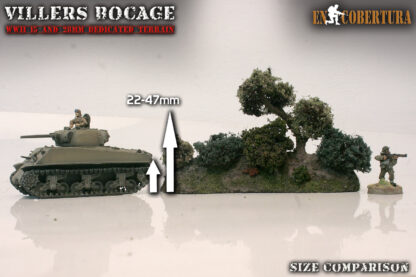 Bocage 28mm Size Comparison