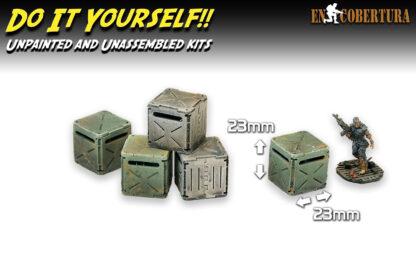 Crates Wargame Sci-Fi