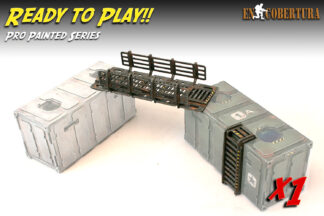 Ladder and catwalk wargame terrain
