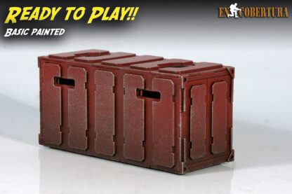 Armoured Container Basic Painted Ready to Play Red