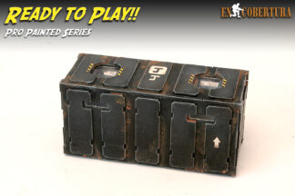 Armoured Container Black Pro Painted Ready to Play