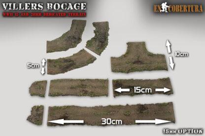Caminos flexibles en 15mm