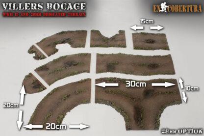 Caminos flexibles en 28mm