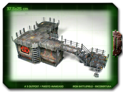 Outpost Space Hulk scenery