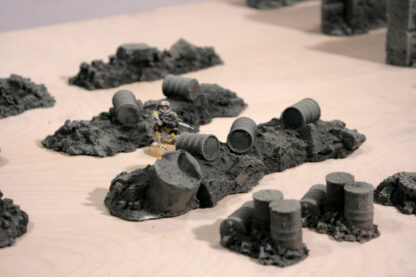 Rubbles scenery for Warhammer 40.000