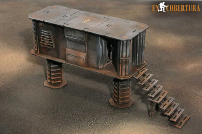 Stairs for 28mm Sci-Fi buildings