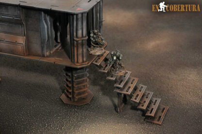 Stairs for 28mm Sci-Fi buildings pic2