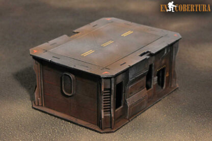 15x20cm Sci-Fi building for Warhammer 40.000 and Sci-Fi wargames pic2