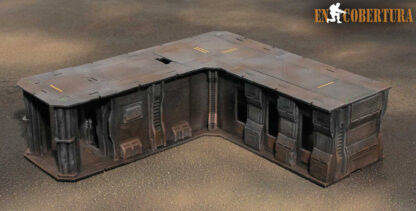 30x27.5cm (L) Sci-Fi building for Warhammer 40.000 and Sci-Fi wargames pic2