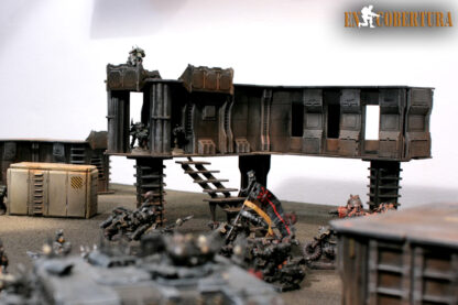 Sci-Fi buildings for 28mm wargames