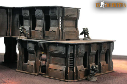 28mm Sci-fi wargame building for Wh40k pic4