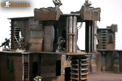 28mm Sci-fi wargame building for Wh40k pic3