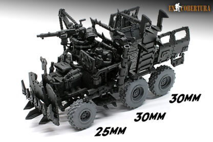 Ork trukk resin wheel