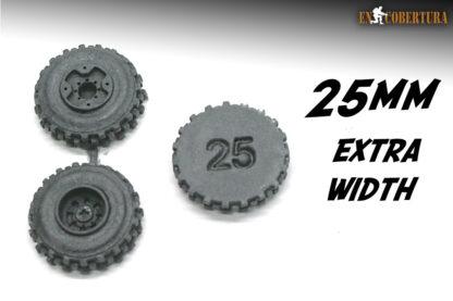 Resin Wheel 25mm Extra