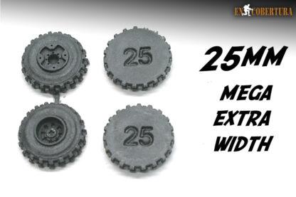 Resin Wheel 25mm Mega