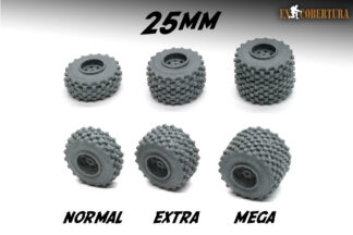 Resin Wheel 25mm Sizes