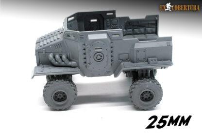 Taurox 25mm wheel