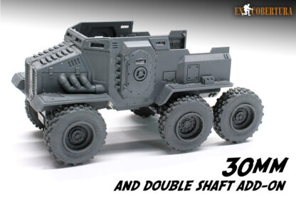 Taurox with 30mm wheels 2
