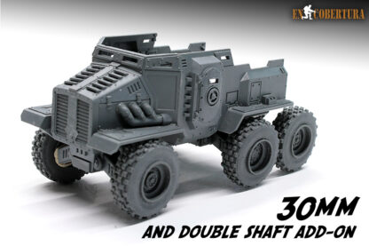 Taurox with 30mm wheels 3