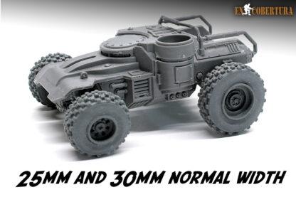 ridgerunner 25mm and 30mm wheels