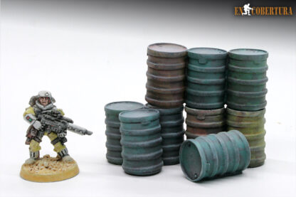 Resin drums wargame scenery