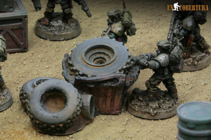 Dump warhammer terrain