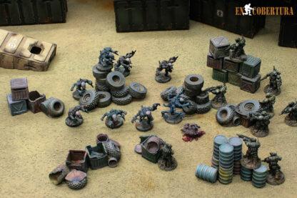 Terreno de vertedero para Wargames