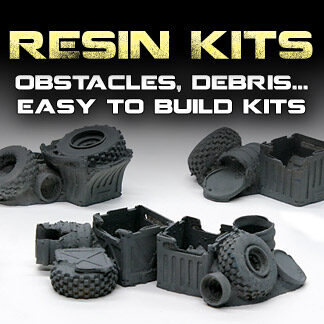 SCI-FI - Modelos de resina / Resin models