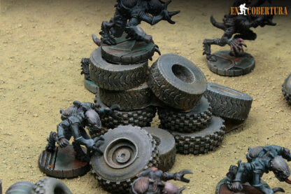 Stack of Tyres scenery