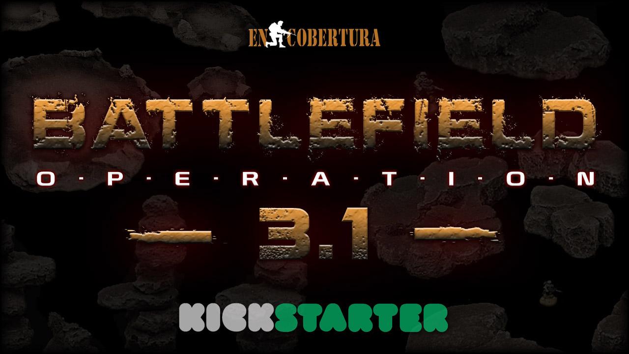 Wargame terrain kickstarter Battlefield Operation 3.1