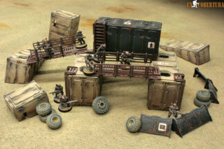 Desert Container Genestealer cult