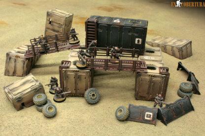 Desert Container Genestealer cult