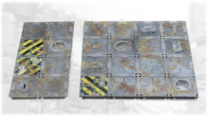 Detailed Wargame Modular Floor Tiles