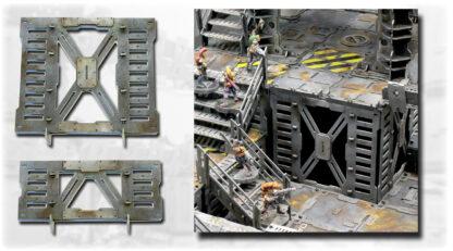 Level lifter for modular floor tiles
